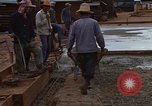Image of pouring cement Thailand, 1966, second 53 stock footage video 65675042841