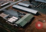 Image of vehicles at air base Thailand, 1967, second 3 stock footage video 65675042844