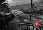 Image of Charles Thomas Pacific Ocean, 1955, second 43 stock footage video 65675042862