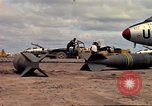 Image of 500lb bombs Vietnam, 1965, second 26 stock footage video 65675042871