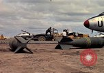 Image of 500lb bombs Vietnam, 1965, second 27 stock footage video 65675042871
