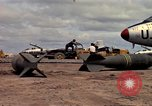 Image of 500lb bombs Vietnam, 1965, second 35 stock footage video 65675042871