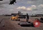 Image of 500lb bombs Vietnam, 1965, second 56 stock footage video 65675042871