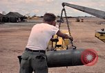 Image of 500lb bombs Vietnam, 1965, second 42 stock footage video 65675042872