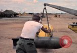 Image of 500lb bombs Vietnam, 1965, second 43 stock footage video 65675042872