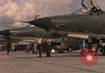 Image of United States F-105 D aircraft Thailand, 1967, second 61 stock footage video 65675042875