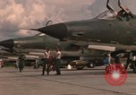 Image of United States F-105 D aircraft Thailand, 1967, second 62 stock footage video 65675042875