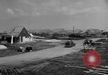 Image of suburban houses New York United States USA, 1950, second 42 stock footage video 65675042887