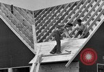Image of suburban houses New York United States USA, 1950, second 48 stock footage video 65675042887