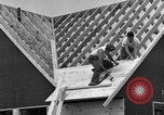 Image of suburban houses New York United States USA, 1950, second 50 stock footage video 65675042887