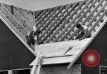 Image of suburban houses New York United States USA, 1950, second 52 stock footage video 65675042887