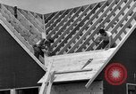 Image of suburban houses New York United States USA, 1950, second 53 stock footage video 65675042887