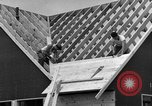 Image of suburban houses New York United States USA, 1950, second 54 stock footage video 65675042887