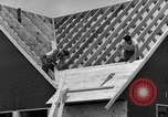 Image of suburban houses New York United States USA, 1950, second 56 stock footage video 65675042887