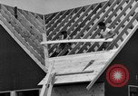 Image of suburban houses New York United States USA, 1950, second 58 stock footage video 65675042887