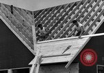 Image of suburban houses New York United States USA, 1950, second 62 stock footage video 65675042887