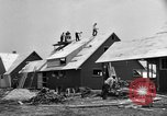 Image of suburban houses New York United States USA, 1950, second 17 stock footage video 65675042888
