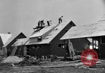 Image of suburban houses New York United States USA, 1950, second 20 stock footage video 65675042888