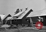 Image of suburban houses New York United States USA, 1950, second 21 stock footage video 65675042888