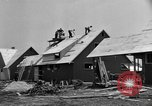 Image of suburban houses New York United States USA, 1950, second 22 stock footage video 65675042888