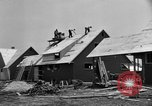 Image of suburban houses New York United States USA, 1950, second 26 stock footage video 65675042888