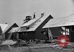Image of suburban houses New York United States USA, 1950, second 28 stock footage video 65675042888