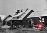 Image of suburban houses New York United States USA, 1950, second 29 stock footage video 65675042888
