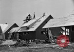 Image of suburban houses New York United States USA, 1950, second 31 stock footage video 65675042888