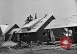 Image of suburban houses New York United States USA, 1950, second 33 stock footage video 65675042888