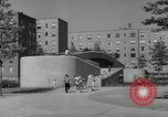 Image of modern planned housing community post war United States USA, 1946, second 47 stock footage video 65675042891
