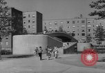 Image of modern planned housing community post war United States USA, 1946, second 48 stock footage video 65675042891