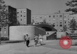Image of modern planned housing community post war United States USA, 1946, second 49 stock footage video 65675042891