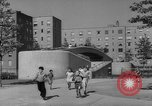 Image of modern planned housing community post war United States USA, 1946, second 50 stock footage video 65675042891