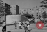 Image of modern planned housing community post war United States USA, 1946, second 51 stock footage video 65675042891