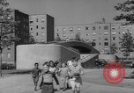 Image of modern planned housing community post war United States USA, 1946, second 52 stock footage video 65675042891