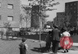 Image of modern planned housing community post war United States USA, 1946, second 61 stock footage video 65675042891