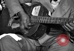Image of Lead Belly United States USA, 1936, second 10 stock footage video 65675042895