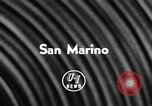Image of Communist government Republic of San Marino, 1957, second 5 stock footage video 65675042901