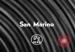 Image of Communist government Republic of San Marino, 1957, second 6 stock footage video 65675042901