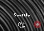 Image of football game Seattle Washington USA, 1957, second 5 stock footage video 65675042905
