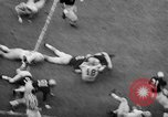 Image of football game Seattle Washington USA, 1957, second 62 stock footage video 65675042905
