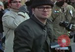 Image of Peace demonstrators march protesting Vietnam War Washington DC USA, 1969, second 7 stock footage video 65675042914