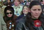 Image of Peace demonstrators march protesting Vietnam War Washington DC USA, 1969, second 8 stock footage video 65675042914
