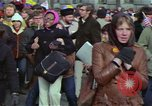 Image of Peace demonstrators march protesting Vietnam War Washington DC USA, 1969, second 16 stock footage video 65675042914