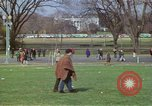 Image of Peace demonstrators march protesting Vietnam War Washington DC USA, 1969, second 23 stock footage video 65675042914
