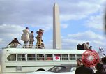 Image of Peace demonstrators march protesting Vietnam War Washington DC USA, 1969, second 35 stock footage video 65675042914