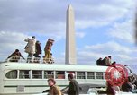Image of Peace demonstrators march protesting Vietnam War Washington DC USA, 1969, second 37 stock footage video 65675042914