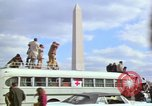 Image of Peace demonstrators march protesting Vietnam War Washington DC USA, 1969, second 39 stock footage video 65675042914