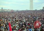 Image of Peace demonstrators march protesting Vietnam War Washington DC USA, 1969, second 57 stock footage video 65675042914