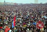 Image of Peace demonstrators march protesting Vietnam War Washington DC USA, 1969, second 62 stock footage video 65675042914